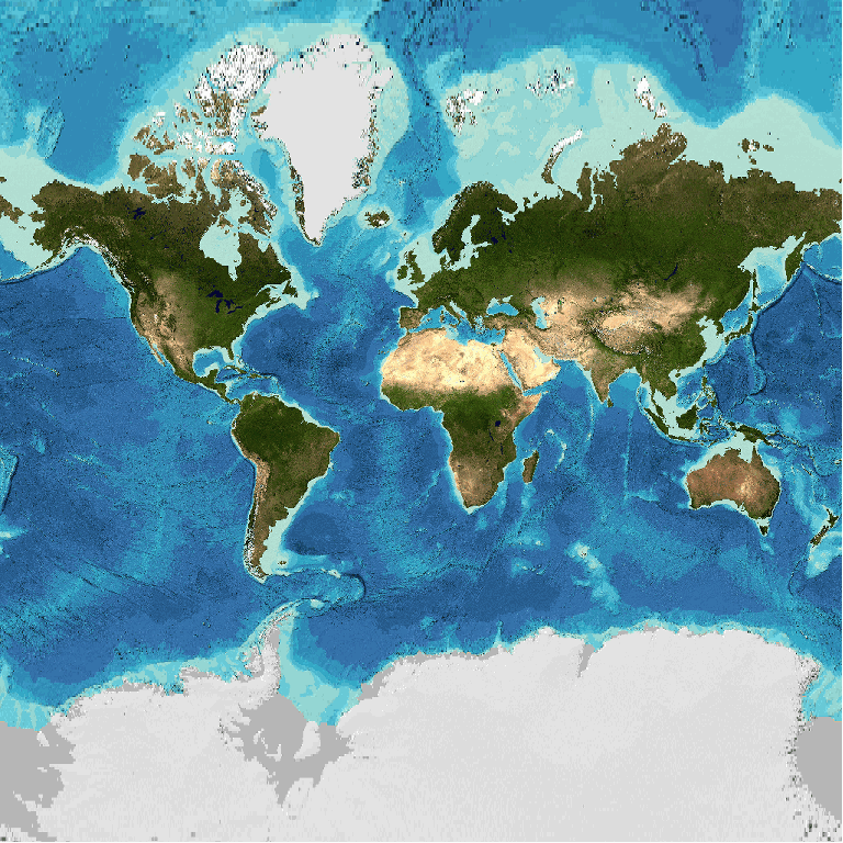 General Bathymetric Chart of the Oceans